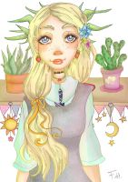 Luna Lovegood by FFairyy