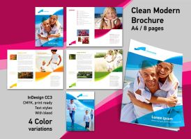 Brochure InDesign Template by RedEffect7