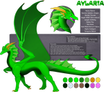 [Design] Aylaria The Emerald Dragoness by Solar-Paragon