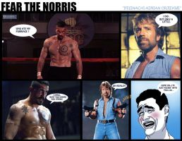 Fear The Norris by ifesinachi