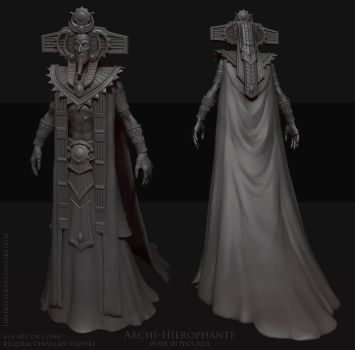 Archi-Hierophante wip by FirstKeeper
