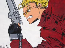 Vash the Stampede - Painted by AelVampire