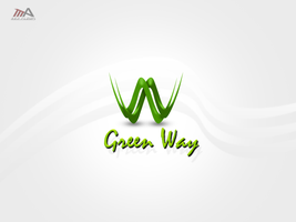 Green Way logo by REDFLOOD