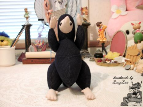 Niffler (inspired by the Harry Potter Series) #4 by handmadebylissylou
