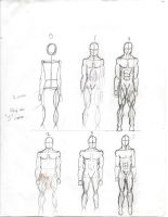 anatomy male front view by Freshbreath3