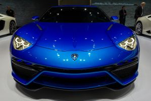Paris 2014: Lamborghini Asterion Face by randomlurker