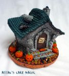 The witch house cake by ArtisAllan