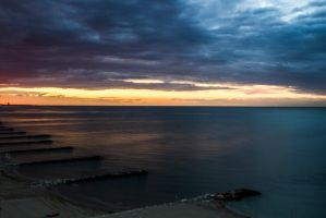 Cattolica Sunset by Audiojaxs