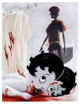 Betty Boop in Psycho by theCreativeRoy