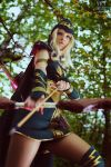 Sherwood Forest Ashe Cosplay: For the Freljord! by Hanuro-Sakura