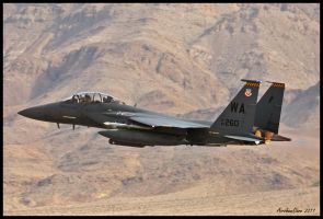 Nellis Strike Eagle by AirshowDave