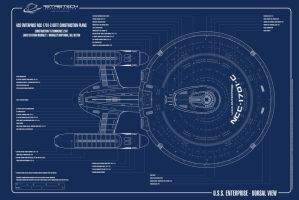 Enterprise 1701C- Dorsal by astristech