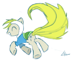 Pony Finn by sketchLark