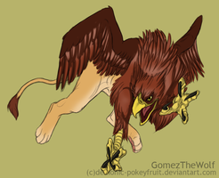 Griffin by Demonic-Pokeyfruit