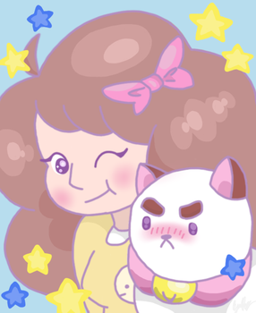 Bee And Puppycat by yourlittleskyheart