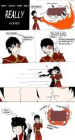 Why Mai and Zuko REALLY kissed by TheLastVeo