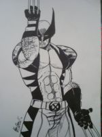 The most dangerous hero inked by papabear7