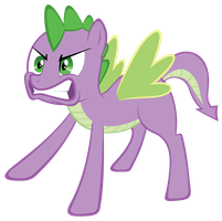 Spike The Pony by elviswjr