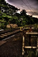 The last train is long ago HDR by xMAXIx