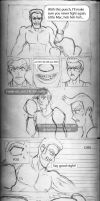 Comic sketch: Punch Out by Diegichigo