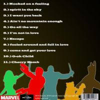 Gotg back album cover by chaoartwork39