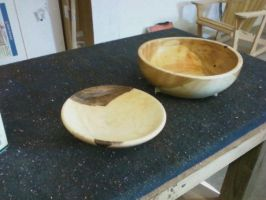 two complete bowls by bleedingpyre