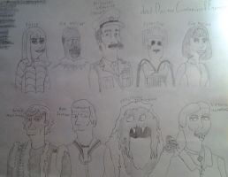 2nd Doctor Who/ Futurama Character Designs by iamtherealbender