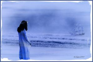 The Blue Lady by frendlygost