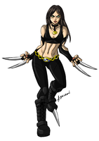 Laura Kinney by ADL-art