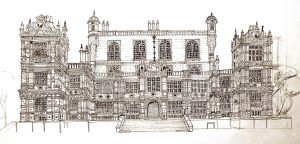 Wollaton Hall by AlphaPsyka