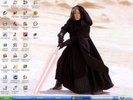 Darth Snape My New Desktop by neecolette