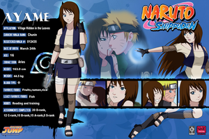 Ayame Tomoko Info card by DeeaLov3