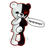 AT: Monokuma by DragonA7X