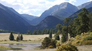 Meadow And Mountains, Rocky Mountain National Park by PamplemousseCeil
