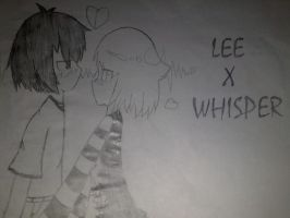 Lee x Whisper-swapping clothes by kevinsky17