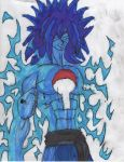Sasuke Elemental Art: Lightning Soul by ChahlesXavier