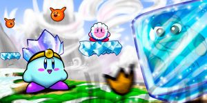 Kirby Ice Dream by amadis33