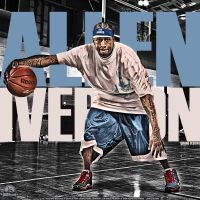 Allen Iverson by lisong24kobe