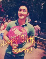 Happy Birthday Siwon by chaixing