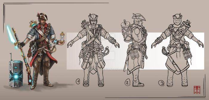 Character sketches/gameart by VLevente