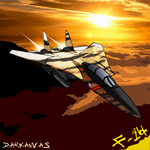F-14 Tomcat by Darkanvas