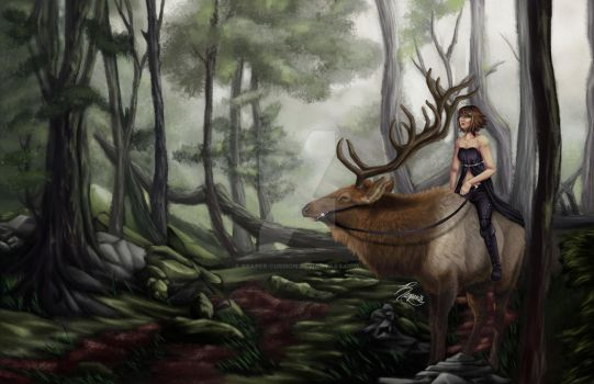 Elk Queen by Reaper-cussion