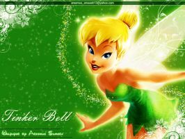 Tinker Bell by areemus