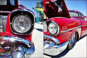 1957 Chevy-Cherry Red by RetroSpectiive