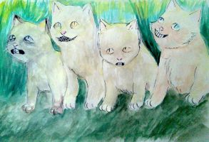 Kitties Adventure to HOME by AnneThorn