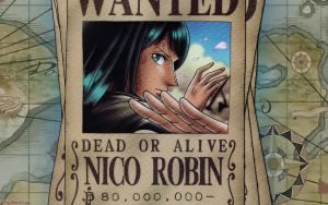 One Piece - Robin Wanted by DharionDrahl