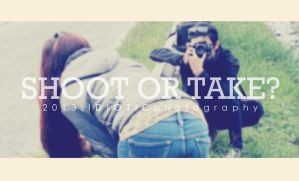 Shoot or take II by IDIOTICphotography