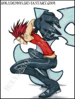 Axel Poster Preview by HolyDemon