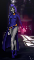 Raven by nolifedoodler