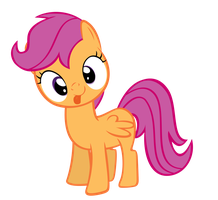 Scootaloo's Big Derp by Orschmann